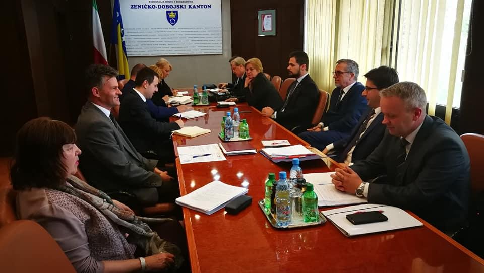 Upriličena posjeta premijeru ZDK: Razgovarano o koncesijama