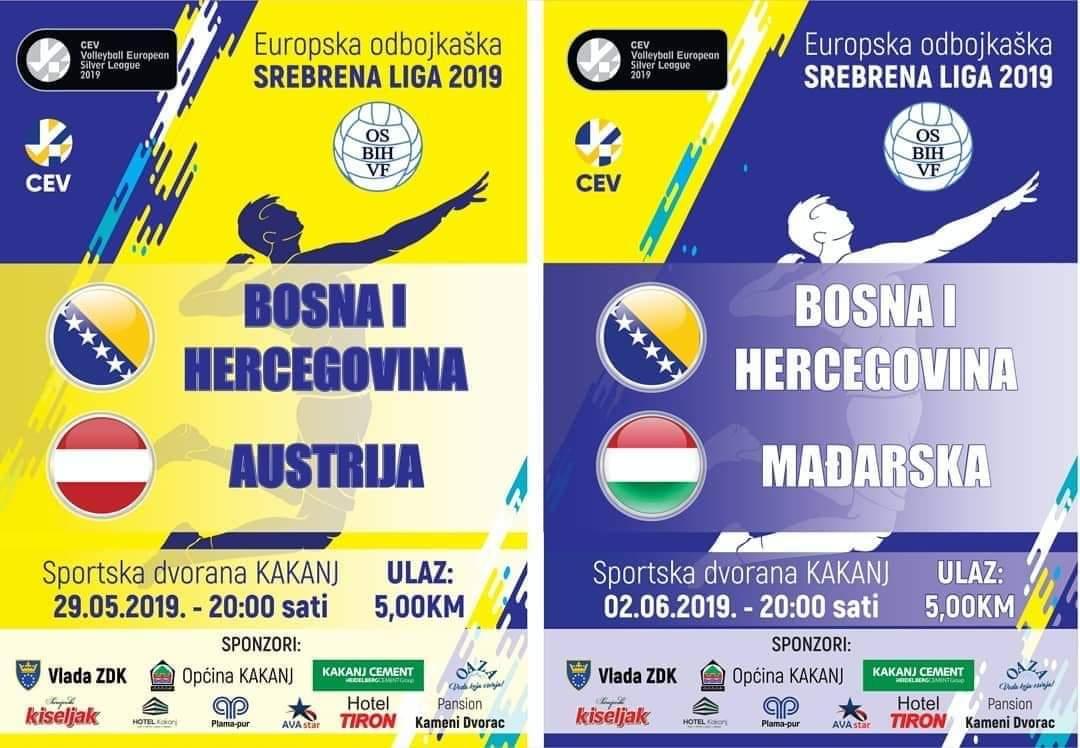 Općina Kakanj kupila 400 ulaznica za predstojeće utakmice odbojkaške reprezentacije