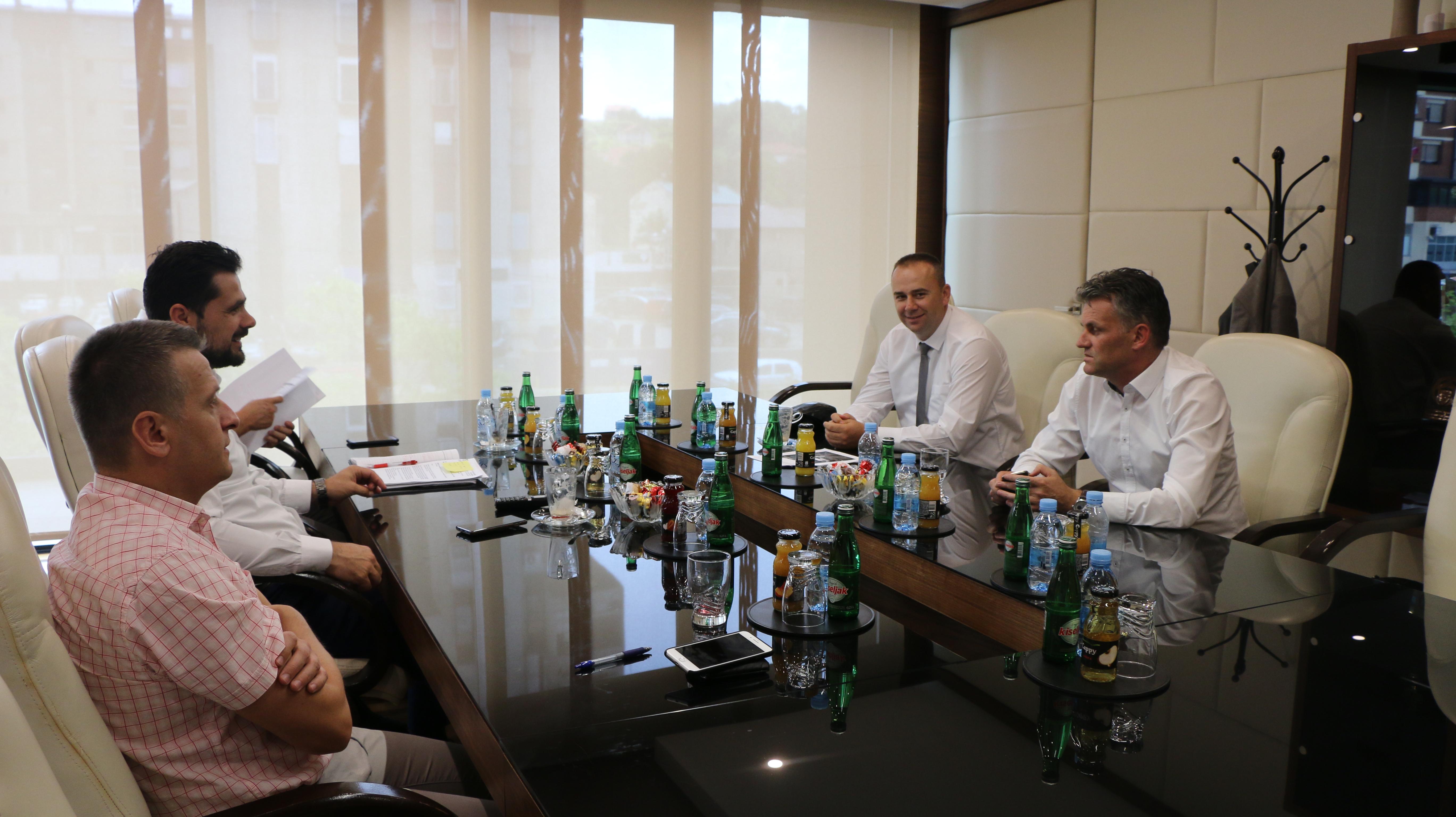 Načelnik Aldin Šljivo razgovarao s kantonalnim ministrima Mirnesom Bašićem i Fahrudinom Čolakovićem