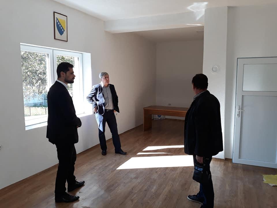 Načelnik Aldin Šljivo posjetio Mjesnu zajednicu Modrinje