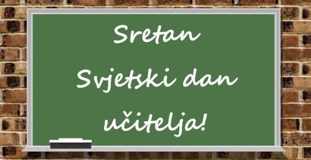 Čestitka načelnika Općine Kakanj Aldina Šljive povodom 5. oktobra – Svjetskog dana učitelja