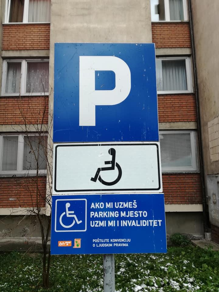 3. decembar – Međunarodni dan osoba s invaliditetom: Općina Kakanj izvršila označavanje 20 parking mjesta namijenjenih ovoj populaciji