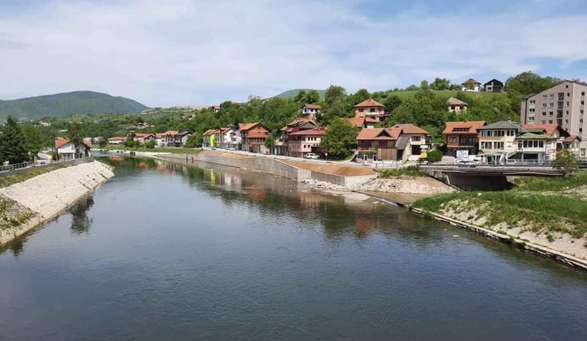 Novih 300.000 KM stiže u Kakanj: U toku tenderska procedura za nastavak radova na uređenju lijeve obale rijeke Bosne od Mosta mladih do Cementarskog mosta