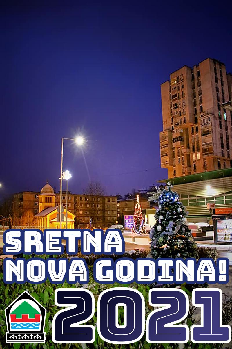 Novogodišnja čestitka načelnika Općine Kakanj Mirnesa Bajtarevića i predsjedavajućeg OV Slavena Katičića