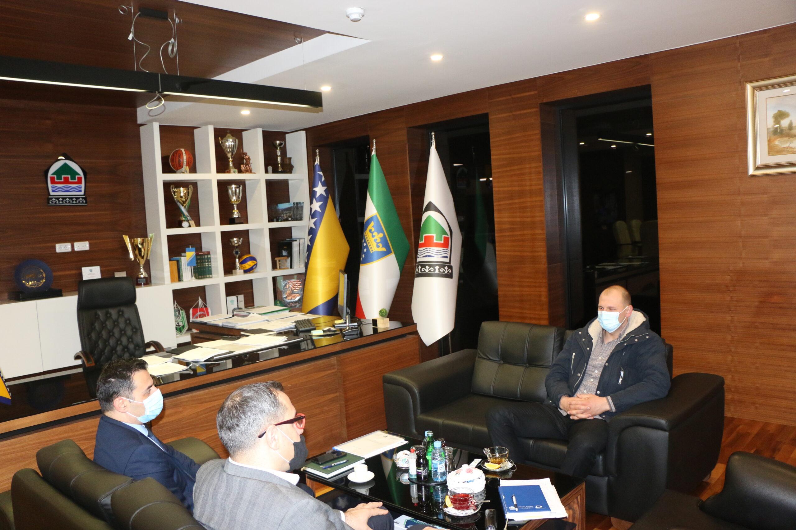 Ured načelnika: Upriličen prijem za Almira Kubata, predsjednika Savjeta Mjesne zajednice Zgošća