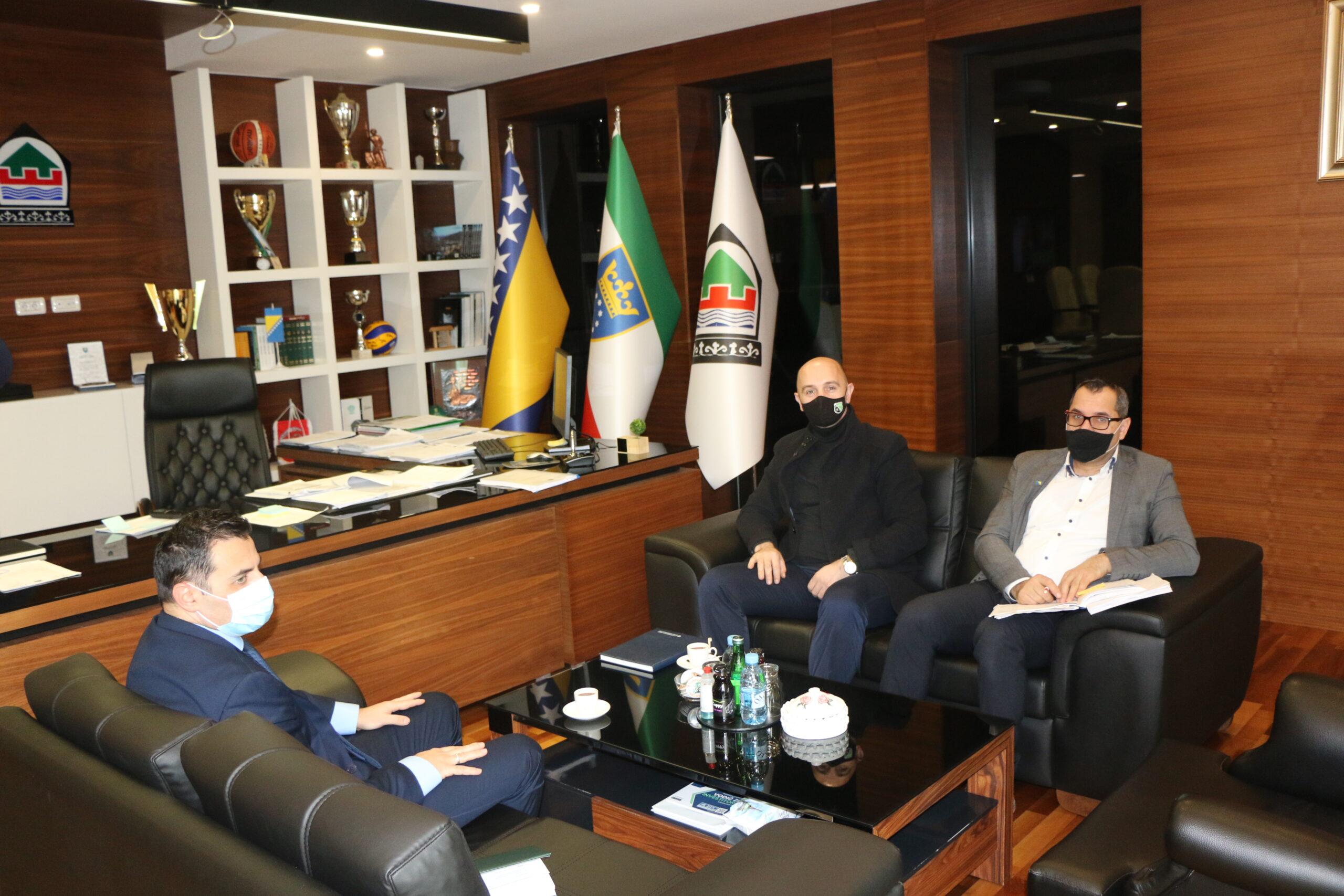 Ured načelnika: Upriličen prijem za Almira Alagića, predsjednika Savjeta Mjesne zajednice Bukovlje